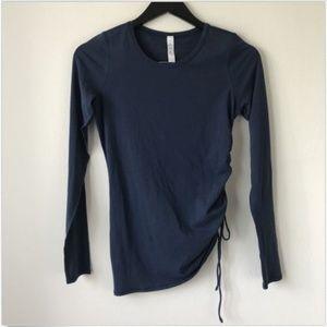 Lululemon Mineral Blue Cinch It Top Shirt